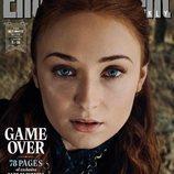 Sophie Turner como Sansa Stark de 'Juego de Tronos' en la revista EW