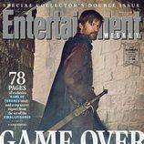 Nikolaj Coster-Waldau como Jaime Lannister de 'Juego de Tronos' en la revista EW