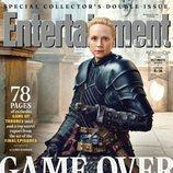 Gwendoline Christie como Brienne de Tarth de 'Juego de Tronos' en la revista EW
