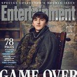 Isaac Hempstead-Wright como Bran Stark de 'Juego de Tronos' en la revista EW
