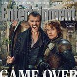Pilou Asbaek y Alfie Allen como Euron y Theon Greyjoy de 'Juego de Tronos' para la revista EW