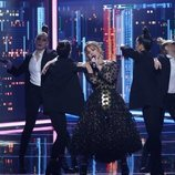 """Vicky Larraz versiona """"Ni una sola palabra"""" en la Gala 3 de 'La mejor canción jamás cantada'"""