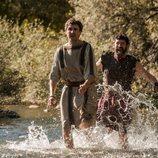 Manio y Gabino huyen a Tracia en 'Justo antes de Cristo'