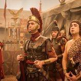 César Sarachu interpreta a un romano en 'Justo antes de Cristo'