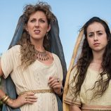 Cecilia Freire y Priscilla Delgado son Valeria y Ática en 'Justo antes de Cristo'