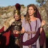César Sarachu y Cecilia Freire en 'Justo antes de Cristo'