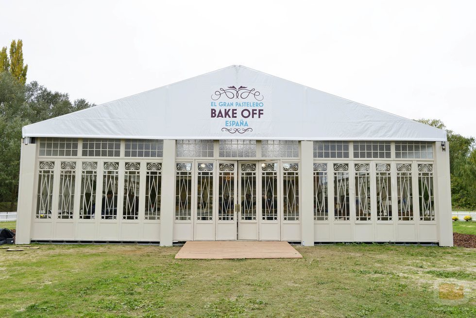 La carpa de 'Bake Off España'