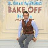 Jesús Vázquez es el presentador de 'Bake Off España'