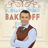 Jesús Vázquez, presentador de 'Bake Off España'