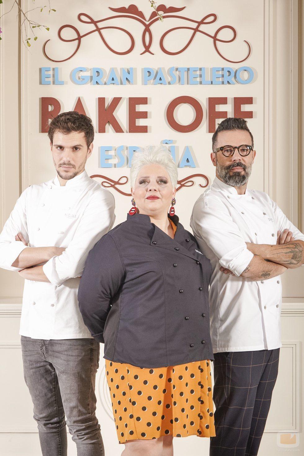 El jurado de 'Bake Off España'