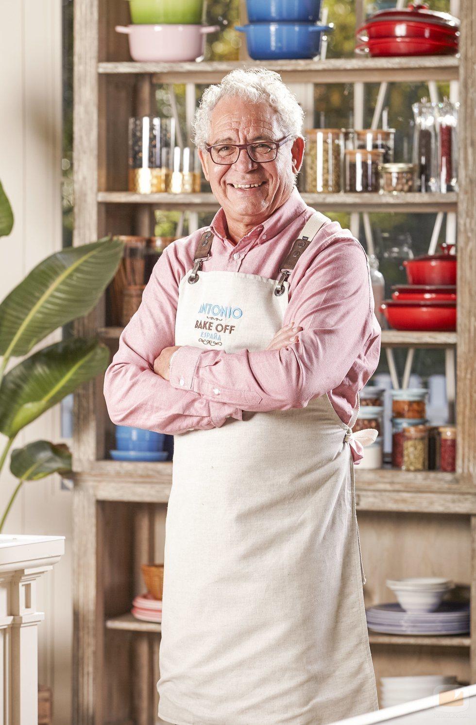 Antonio, concursante de 'Bake Off España'