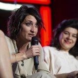 Susi Caramelo durante la rueda de prensa del programa 'Las que faltaban'
