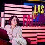Susi Caramelo en la rueda de prensa de 'Las que faltaban'