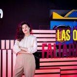 Nerea Pérez de las Heras en la rueda de prensa de 'Las que faltaban'