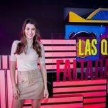 Eva Soriano en la rueda de prensa de 'Las que faltaban'