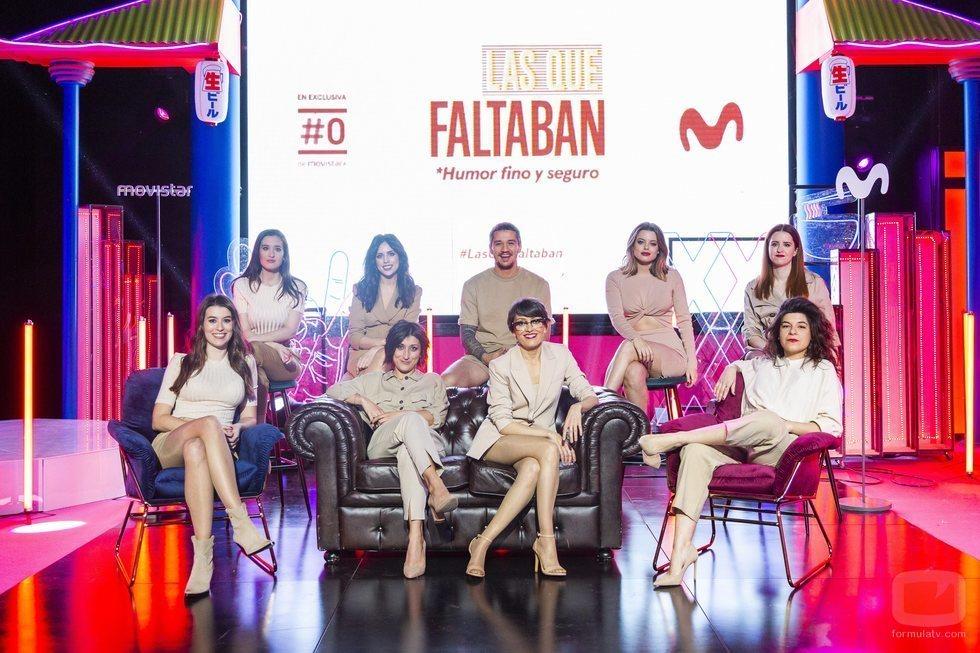 El equipo de 'Las que faltaban' durante la rueda de prensa