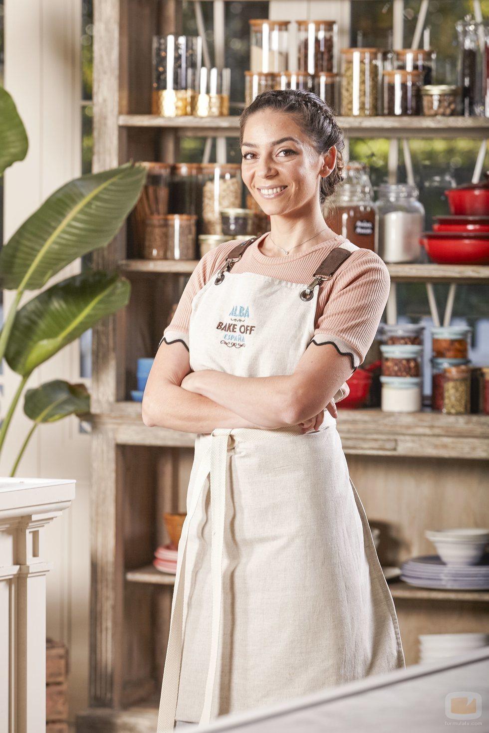 Alba, concursante de 'Bake Off España'