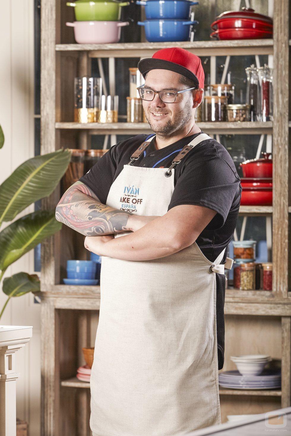 Iván, concursante de 'Bake Off España'