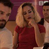 Diego, Eva y Marco, compañeros de trabajo y triángulo amoroso en 'Instinto'