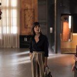 Diego se encuentra con Eva delante de su mujer Bárbara en 'Instinto'