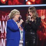 Karina y Marilia juntas en la Gala 2 de 'La mejor canción jamás cantada'