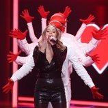 Marilia en la Gala 2 de 'La mejor canción jamás cantada'