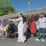 Los Jiménez, en el mercadillo en la quinta temporada de 'Los Gipsy Kings'