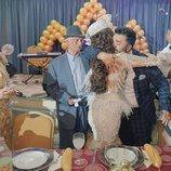 Los Jiménez celebran el bautizo del hijo de La Rebe en la quinta temporada de 'Los Gipsy Kings'