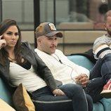 Irene Rosales, Kiko Rivera y Antonio Tejado durante la Gala de 'GH Dúo'