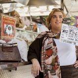Brays Efe en el rodaje de la tercera temporada de 'Paquita Salas'