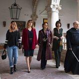 Las hermanas de 'A pesar de todo' son guiadas por un monasterio