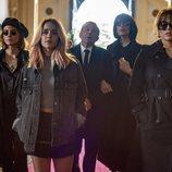 La particular familia de 'A pesar de todo' en el funeral de Carmen