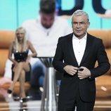 Jorge Javier presentando la Gala 10 de 'GH Dúo' con Ylenia recién expulsada