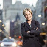 Posado de Inés Ballester, presentadora de 'Está pasando' en Telemadrid