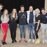 Miki Núñez ensaya la actuación de 'La venda' para Eurovisión 2019 junto a sus bailarines