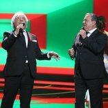 Los del Río actuando en la segunda gala de 'La mejor canción jamás cantada'