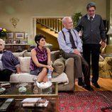 Los actores Marisa Porcel y Pepe Ruiz en 'La familia Mata'