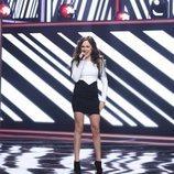 María Parrado cantando en la segunda gala de 'La mejor canción jamás cantada'