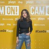Begoña Vargas en la presentación de 'Cam On'