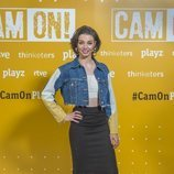 Carmen Climent en la presentación de 'Cam On'