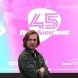 Carlos Cuevas en la presentación de '45 revoluciones'