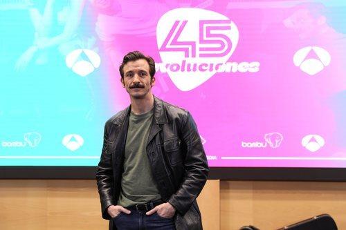 Iván Marcos en la presentación de '45 revoluciones'