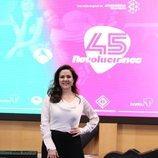 Carmen Gutiérrez en la presentación de '45 revoluciones'