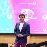 Luis Larrodera en la presentación de '45 revoluciones'