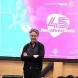 Pere Ponce en la presentación de '45 revoluciones'