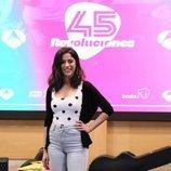 Silvana Navas en la presentación de '45 revoluciones'