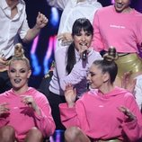 Natalia Lacunza en la tercera gala de 'La mejor canción jamás cantada'
