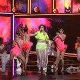 Rosa López en la tercera gala de 'La mejor canción jamás cantada'