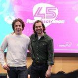 Vito Sanz y Carlos Cuevas en la presentación de '45 revoluciones'
