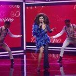 La Terremoto de Alcorcón en la cuarta gala de 'La mejor canción jamás cantada'